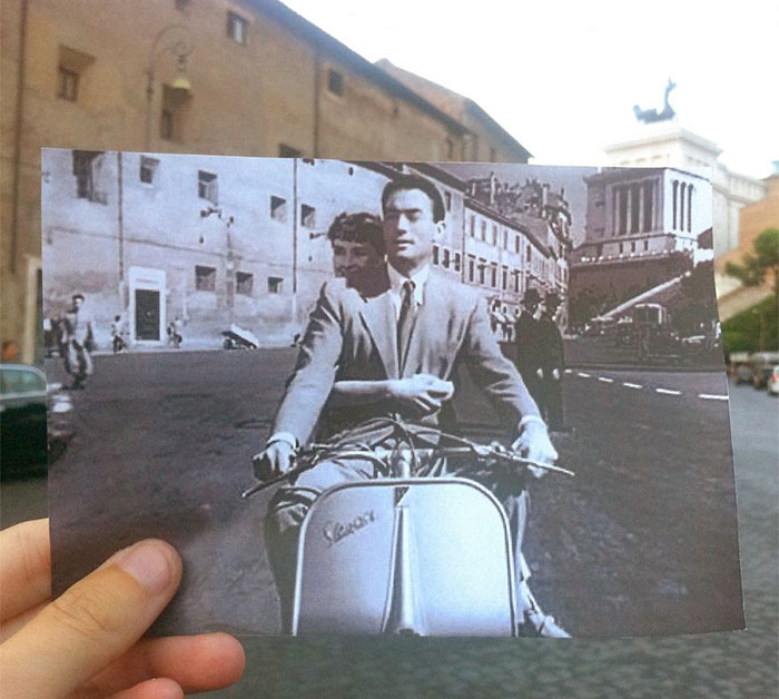 Movies Come To Life Again In The Streets Of Rome