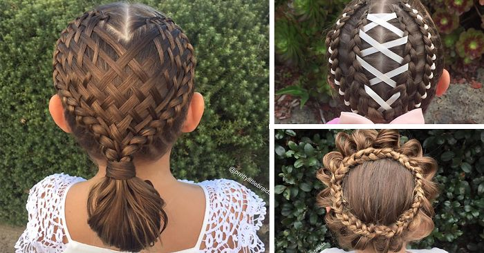 Cute Hairstyles With Dutch Braids: Mom Braids Unbelievably Intricate Hairstyles Every Morning