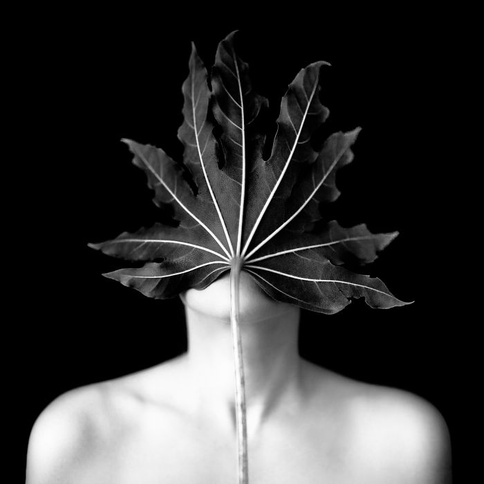 My Photo Series Blends The Human Body With Plants