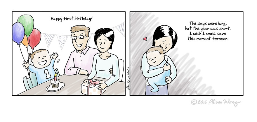 Comics That Accurately Capture The First Year Of Motherhood - 20 photos that perfectly depict the hilarious struggles of being a parent