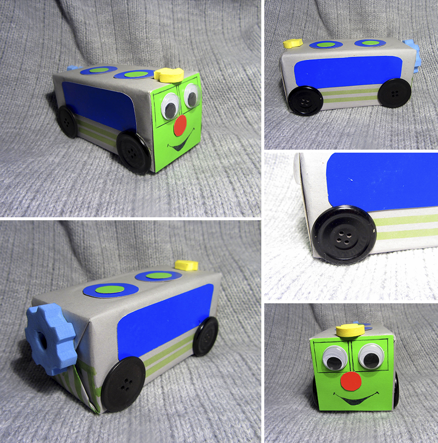 Our Family Spends Quality Time By Creating Toys From Recyclable Materials