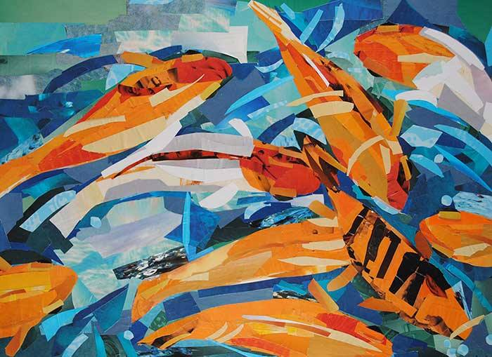 painting-with-paper-paper-art-made-entirely-from-magazine-strips-1bbbb