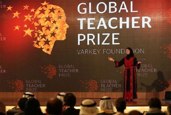 Palestinian Teacher Wins $1 Million Global Teacher Prize