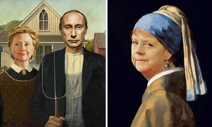 Politicians Placed Into Classic Masterpiece Paintings