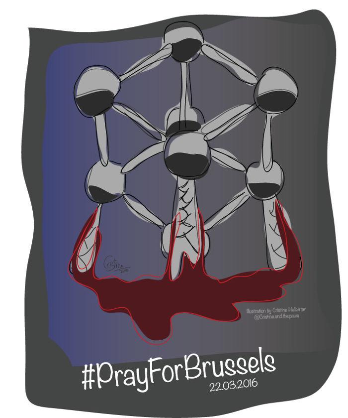 #prayforbrussels