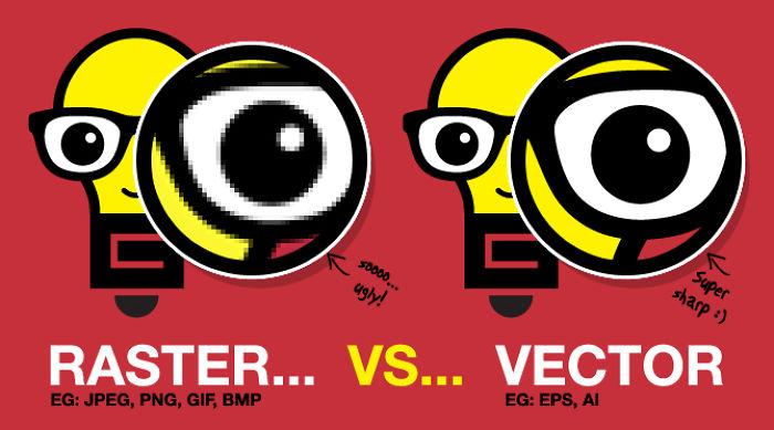 Raster Vs. Vector: The Battle Of Image Graphics