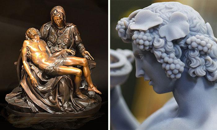 Renaissance Mastery Meets High-Tech Through 3D Printed Work By Michelangelo