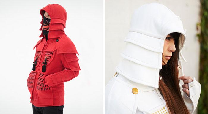 Samurai Armor Hoodies From Japan