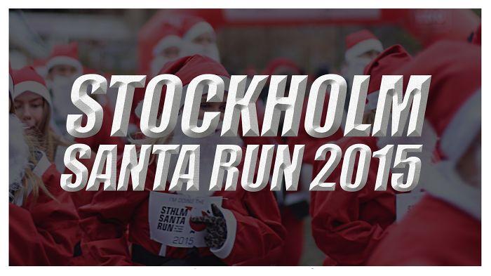 Stockholm Santa Run 2015