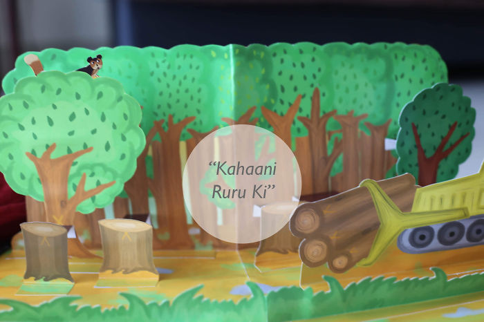 The First Amazing And Educational Hindi Pop-up Book.