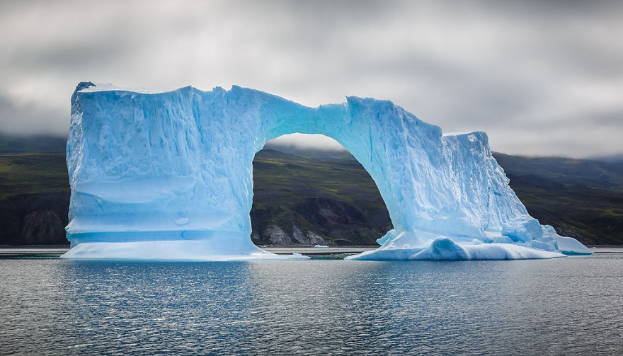 The Icebergs Of Disko Bay That I Captured From A Russian Yacht Near Greenland