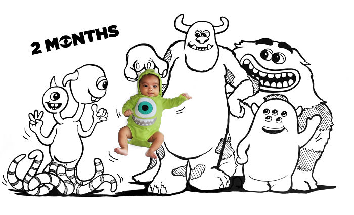 These Disney Loving Parents Chose The Coolest Way To Document Their Child's First Year
