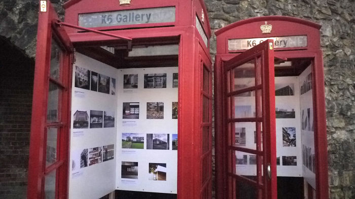 These Payphones Have Been Transformed Into An Art Gallery