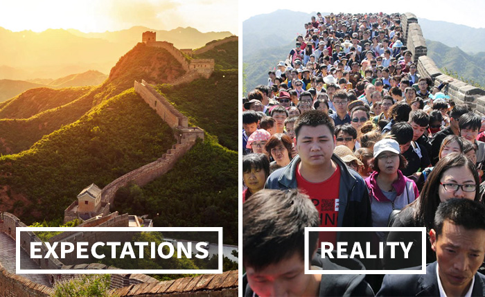 Vacation Destinations Expectations Vs. Reality (40 Pics)