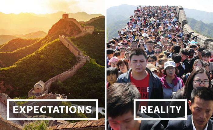 Travel Expectations Vs Reality (20+ Pics)