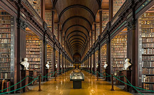 This 300-Year-Old Library Chamber In Dublin Has 200,000+ Books