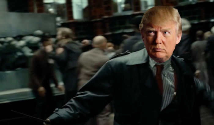 Trump As Harry Potter (undesirable No. 1)