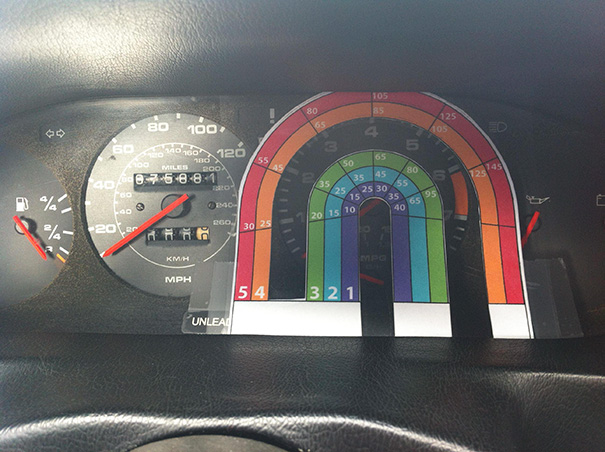 My Speedo Is Broken, But The Tachometer Works Fine. Lets Fix It With Vector Graphics