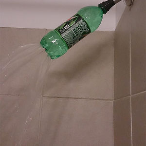 So My Son Fixed Our Shower