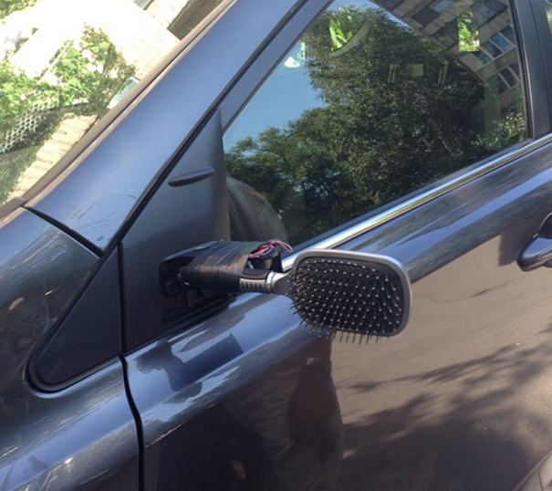 Left Side Mirror Broken Off? No Problem