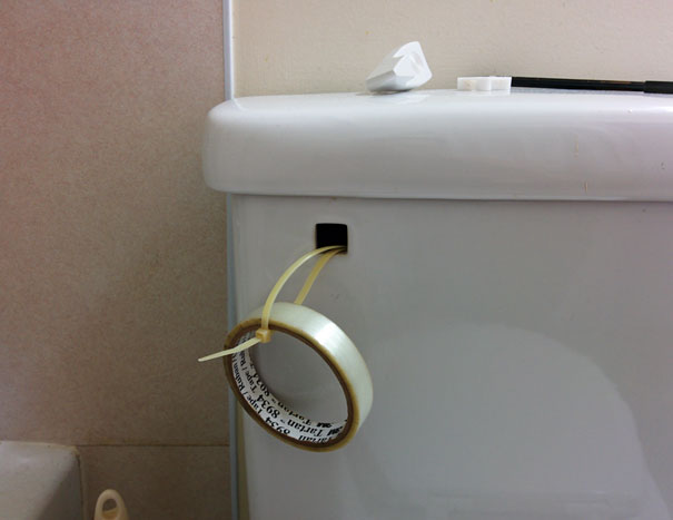My Wife Asked Me To Fix The Toilet