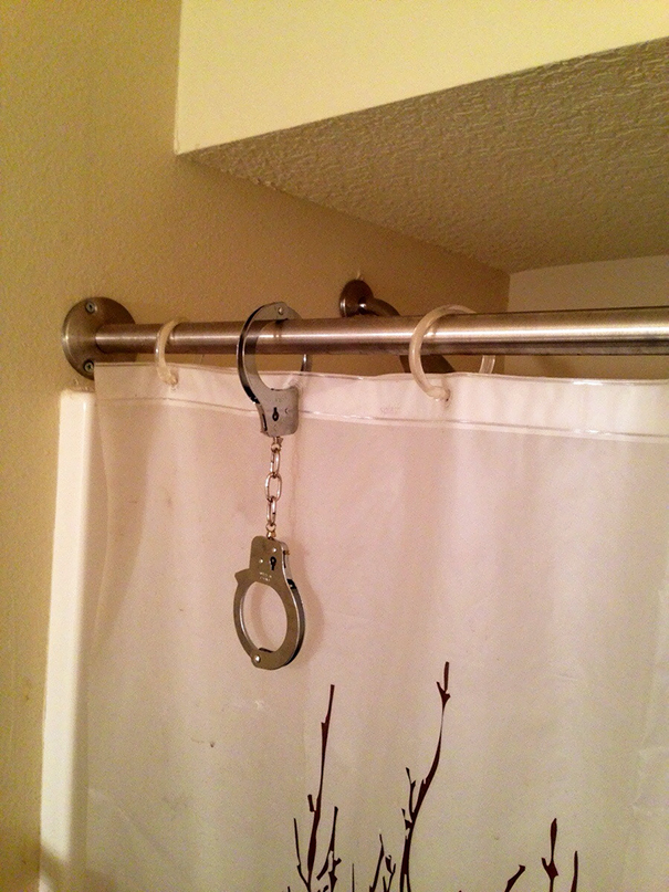 Broke One Of The Rings On My Shower Curtain Today. Here Is My Life Hack
