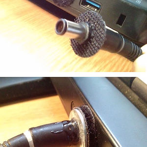 My Laptop Charger Kept Falling Out