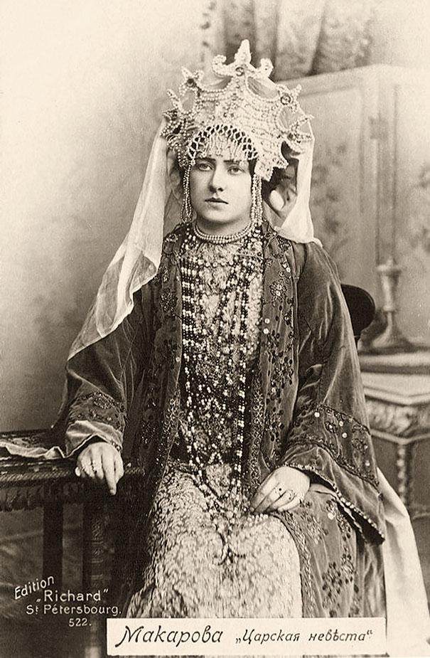 Russian Opera Singer Makarova