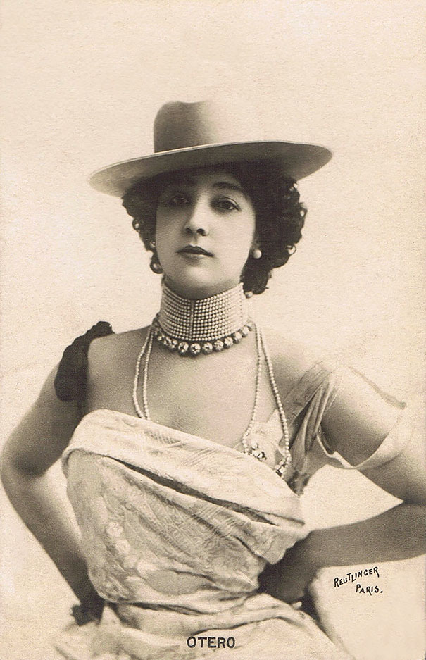 "Carolina ""la Belle"" Otéro Was A Spanish-born Dancer, Actress And Courtesan"