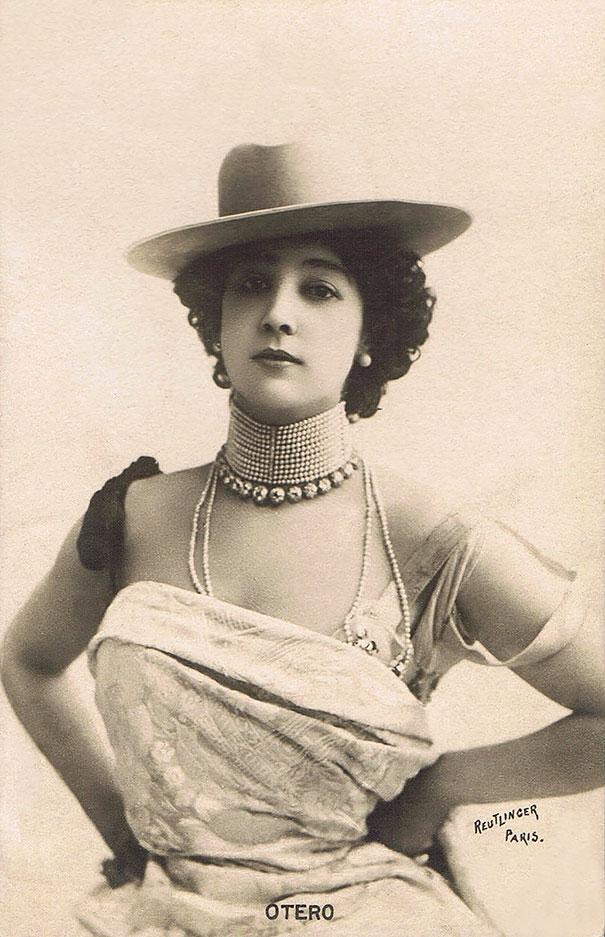 "Carolina ""la Belle"" Otéro Was A Spanish-born Dancer, Actress And Courtesan"