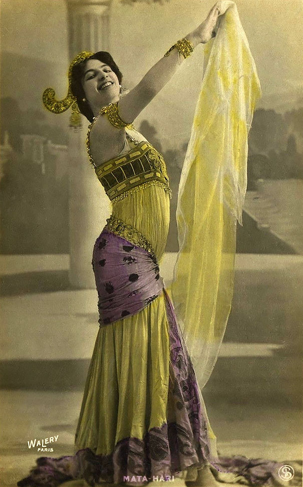 Margaretha Geertruida Macleod Better Known By The Stage Name Mata Hari
