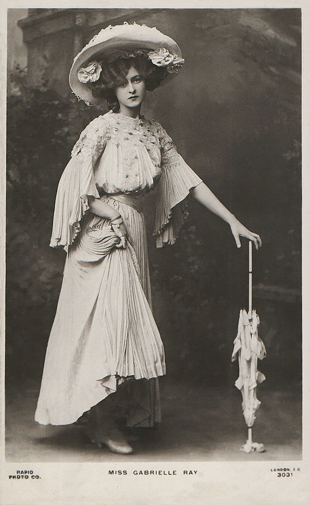 Gabrielle Ray Was An English Stage Actress, Dancer And Singer
