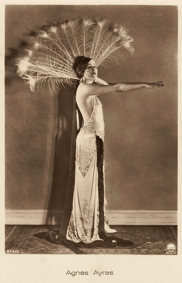 Agnes Ayres Was An American Actress Who Rose To Fame During The Silent Film Era