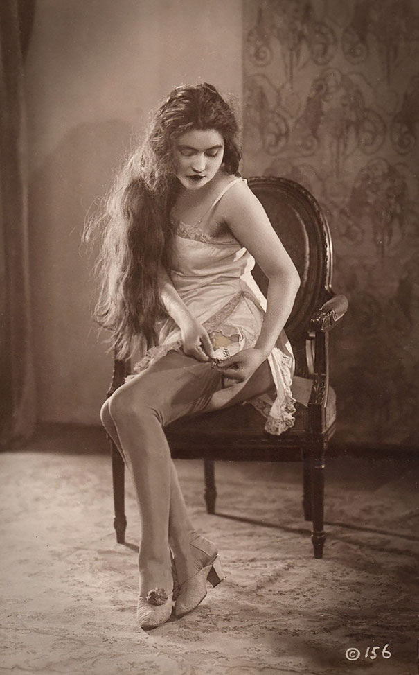 Unknown Lady With Long Hair