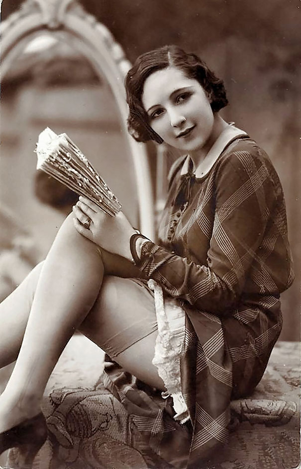 Female vintage foto 11