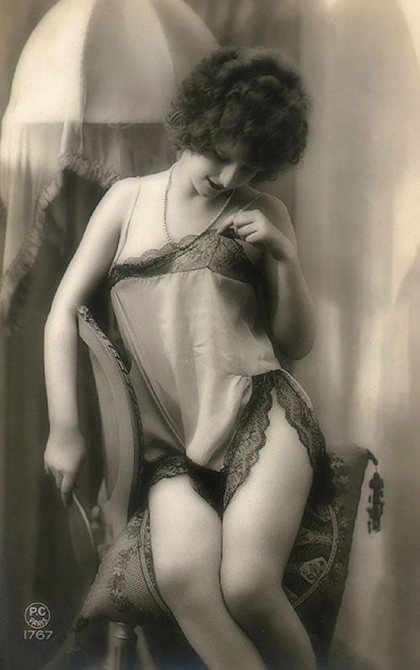 Unknown Lady, Vintage Erotica