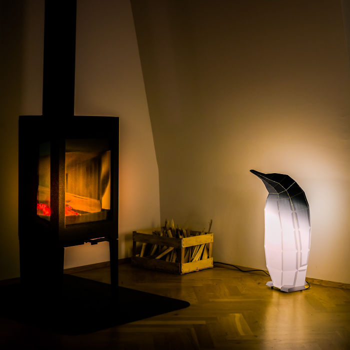 We Create Geometric Animal Lamps That You Can Assemble Yourself
