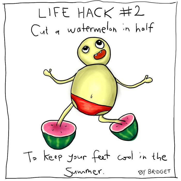 I Illustrated 6 Amazing Hacks To Improve Your Life