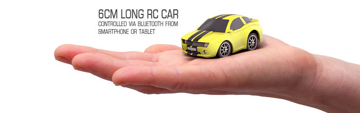 We Made A 6 Cm Long Rc Car That Can Controlled From Your Smartphone