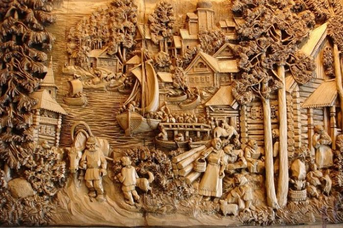 Wood Carving – Awesome Art
