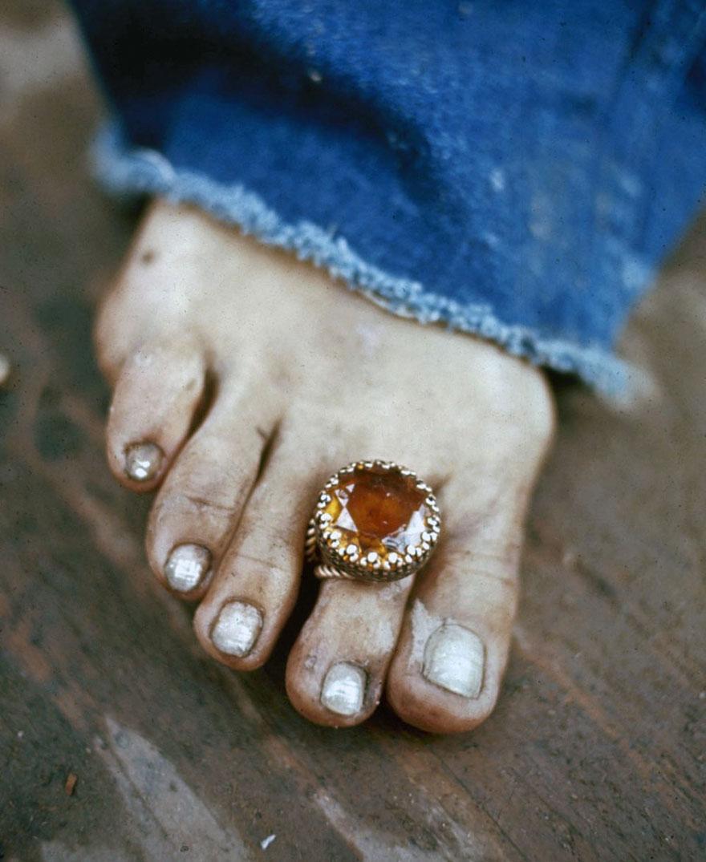 Toe Ring At Woodstock