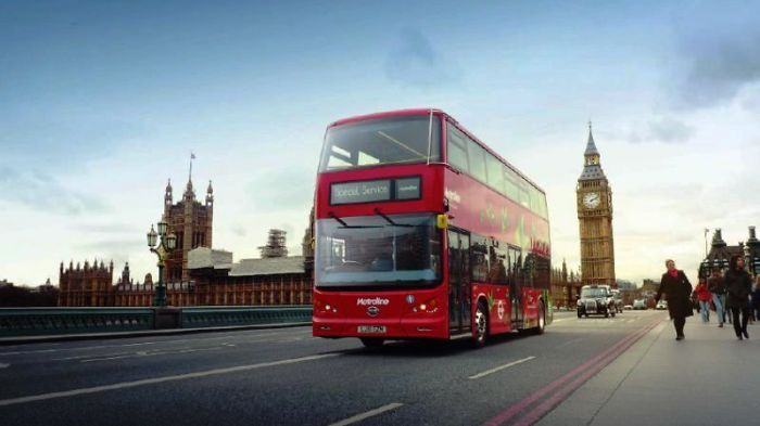 World's First Fully Electric Double-decker Bus Launched In London