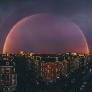 Rainbow City: I Came Home To Amsterdam To Find This