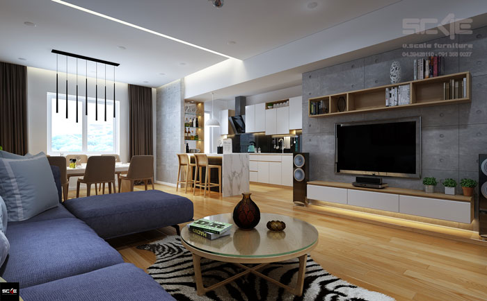 Interior Design Viet Hung Apartment