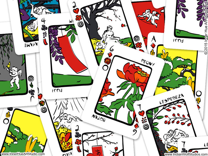 Mulitpurpose Playing Cards Can Be Used To Play Both Eastern And Western Games