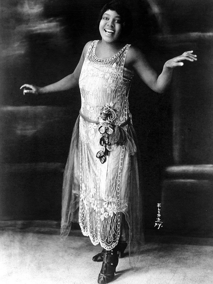Blues Singer Bessie Smith Poses For A Portrait Circa 1925 In New York City, 1925