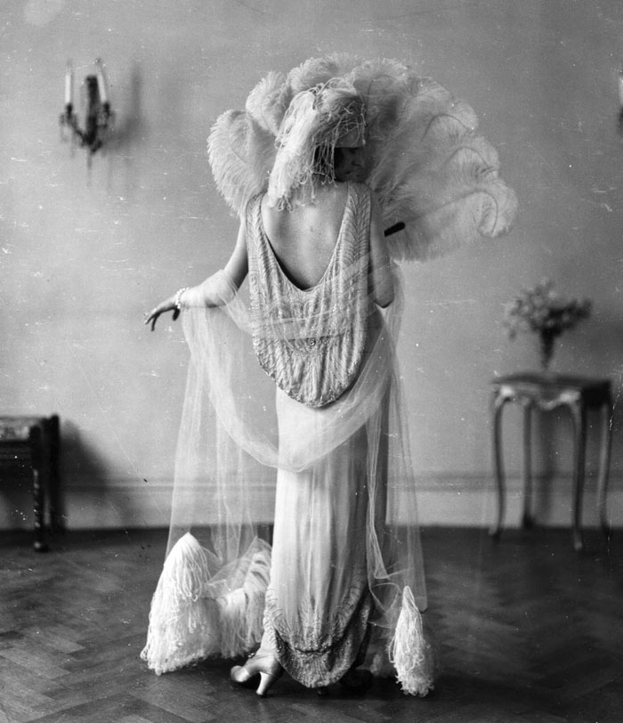 Madeleine Vionnet In A Norman Hartnell Dress, 1924