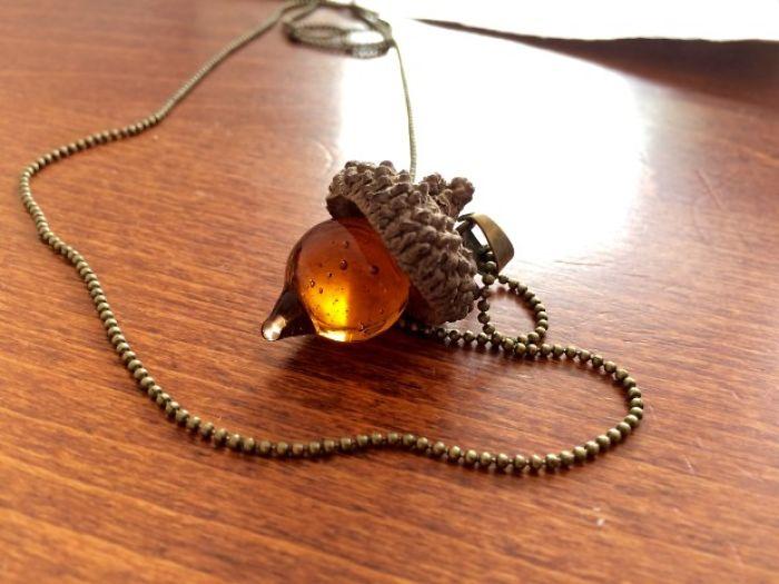 Acorn, The Nature-made Jewelry