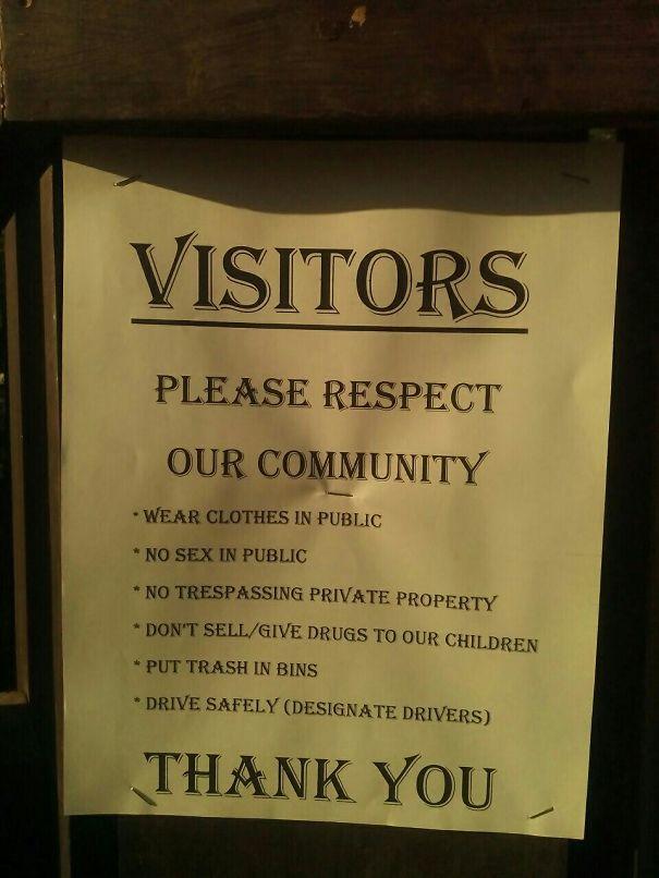 Visitors...?!