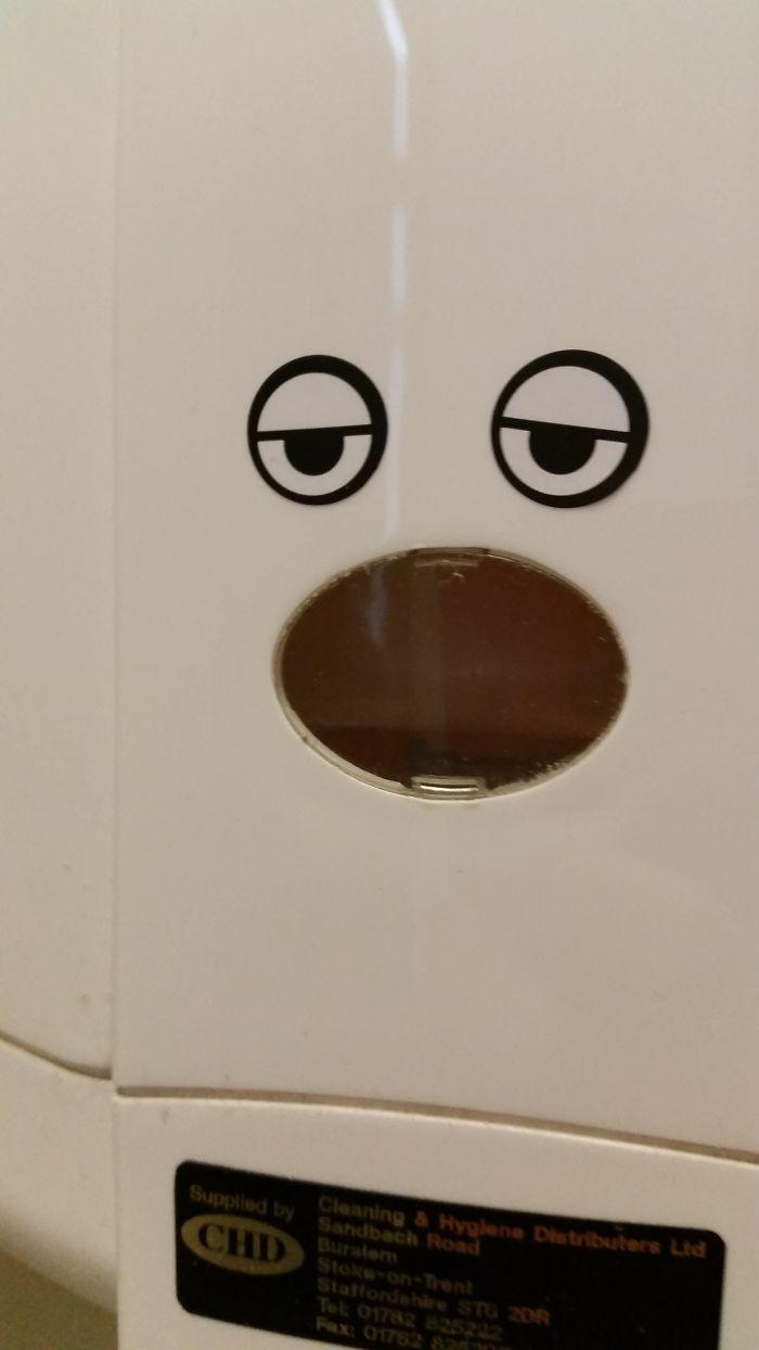 Soap Dispenser's Seen Some Stuff